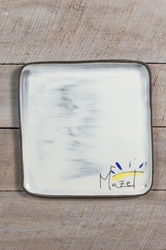 Mazel Square Plate (Small/Large)