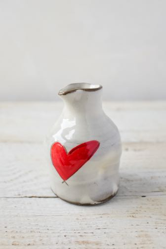 Love (heart) Mini Pitcher