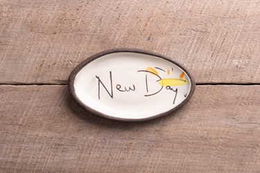 New Day Mini Oval Tray