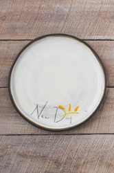 New Day Round Plate (Small/Large)