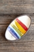 Rainbow Mini Oval Tray -