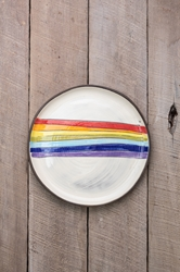 Rainbow Round Plate (Small/Large)