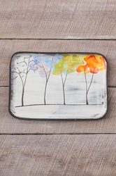 Seasons Rectangle Plate