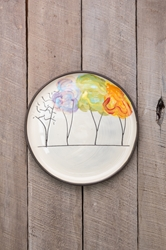 Seasons Round Plate (Small/Large)
