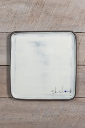 Shalom Square Plate (Small/Large)