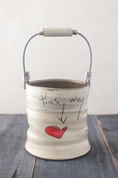 This Way to Love Bucket (Small/Large)