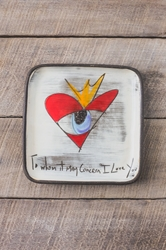 To Whom it May Concern Square Plate (Small/Large)